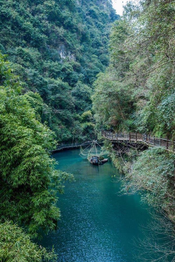 Download Hubei Yiling Yangtze River Three Gorges Dengyingxia In Longxi Stock Image - Image: 83703525