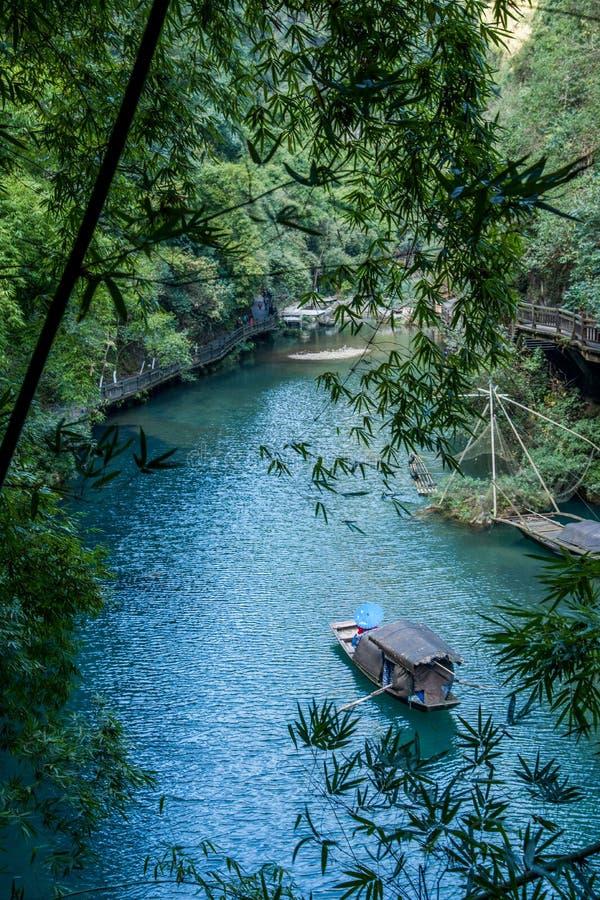 Download Hubei Yiling Yangtze River Three Gorges Dengyingxia In Longxi Stock Photo - Image: 83703580