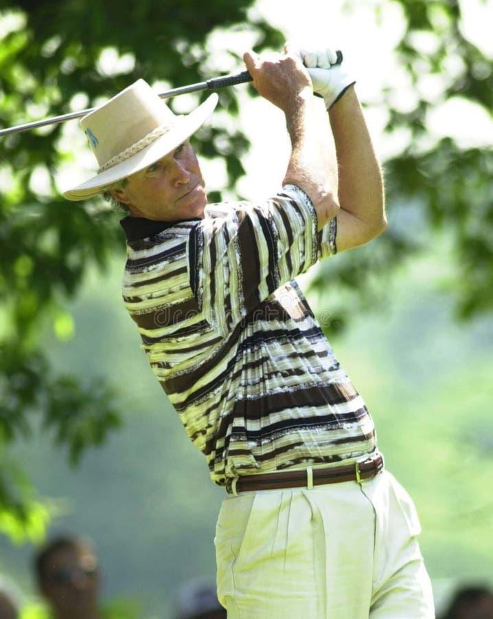 Hubert Green. Famed Professional golfer Hubert Green. Image taken from color slide royalty free stock photos