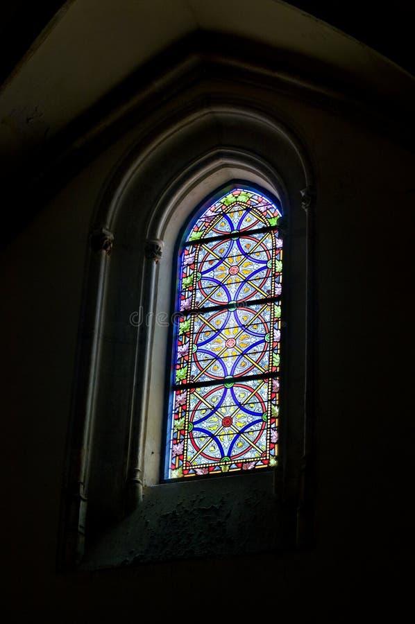 Hublot dans la paroisse San Jeronimo   image stock