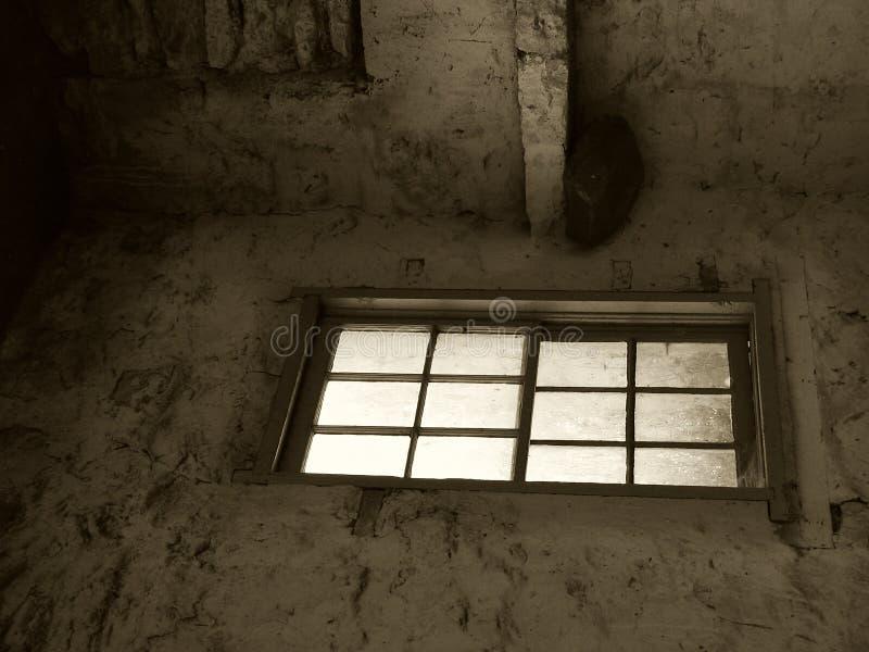 Hublot Dans La Sépia Photo libre de droits