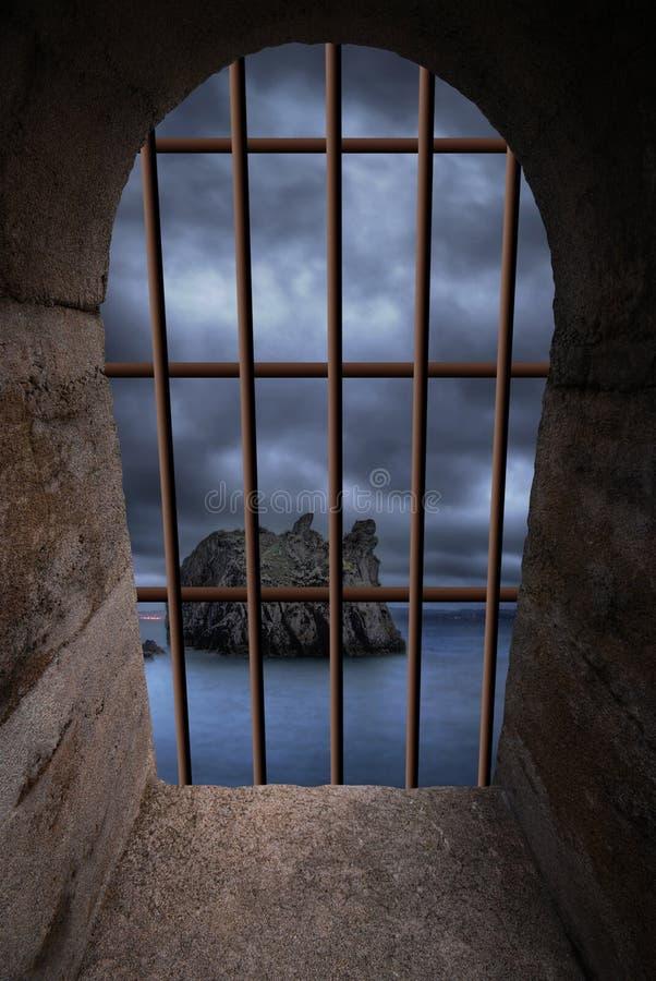 Hublot de Dungeon photo libre de droits