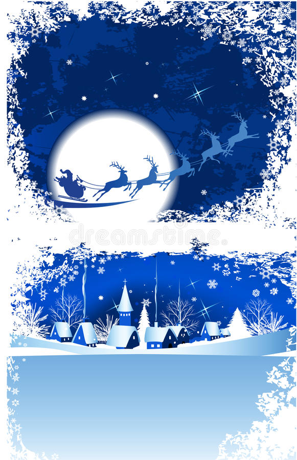 Hublot de Noël. illustration libre de droits