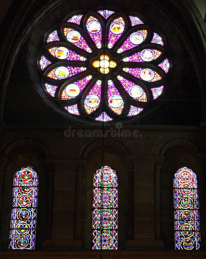 Hublot de verre coloré 1 photo libre de droits
