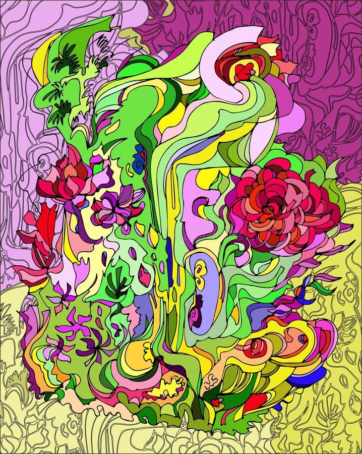 Hublot de verre coloré 4 photo libre de droits