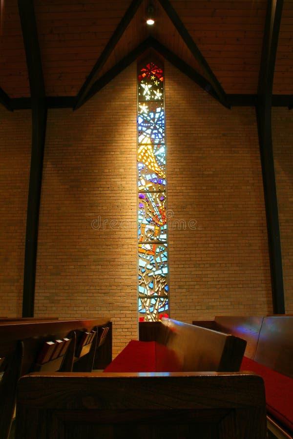 Download Hublot En Verre Souillé D'église Photo stock - Image du côté, noël: 2126800