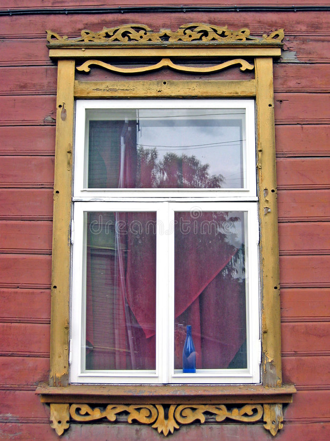 Hublot estonien photo libre de droits