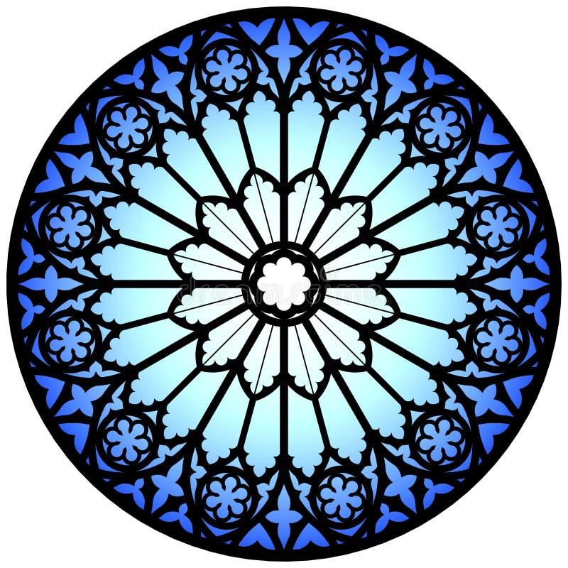 Hublot rose bleu illustration libre de droits
