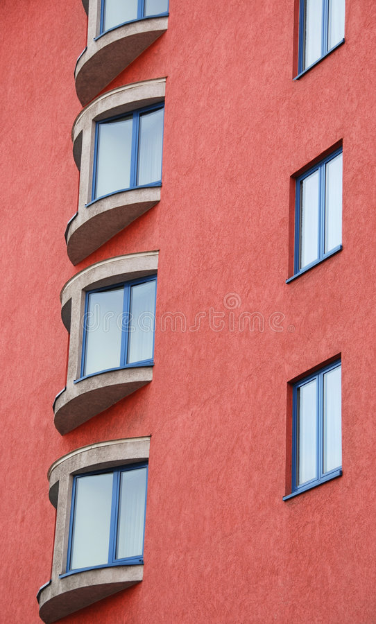 Hublots d'appartement image stock