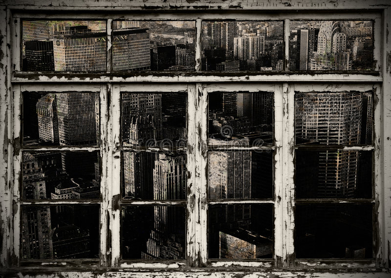 Download Hublots De La Vue W De Ville De B Image stock - Image du grunge, vieux: 8658645