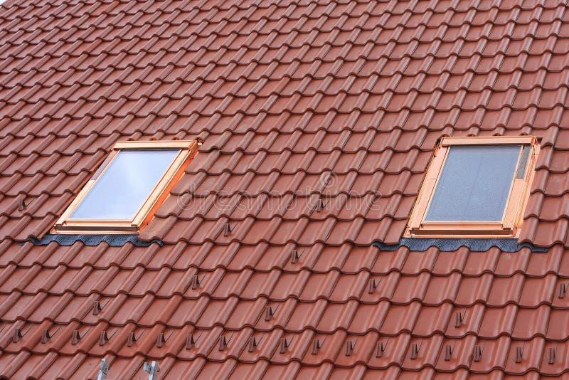 Hublots de toit image libre de droits