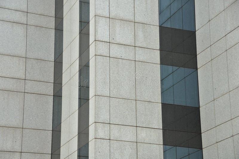Hublots en verre de construction photo stock