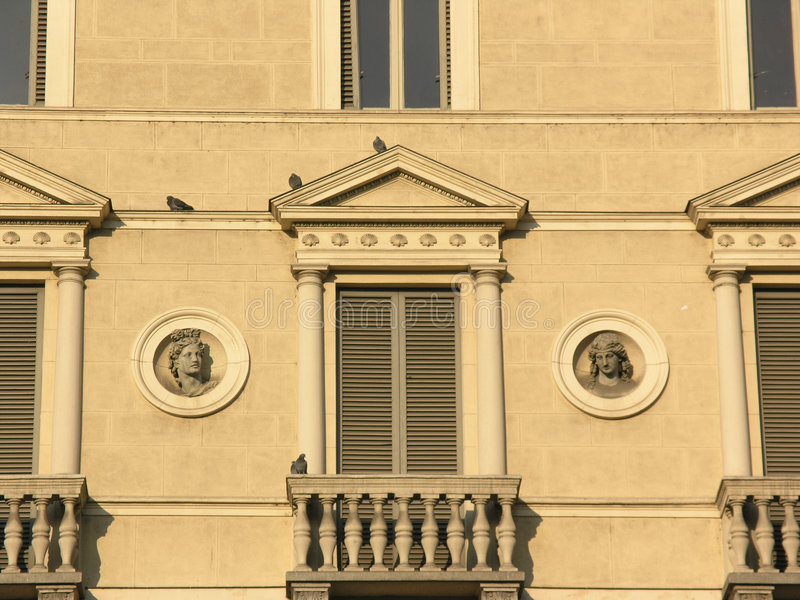 Hublots italiens photo libre de droits