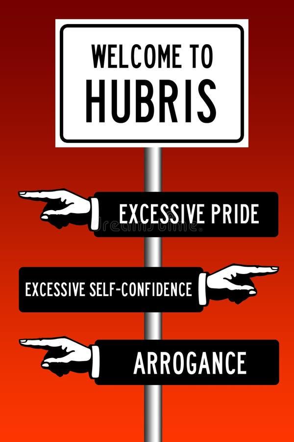 hubris ελεύθερη απεικόνιση δικαιώματος