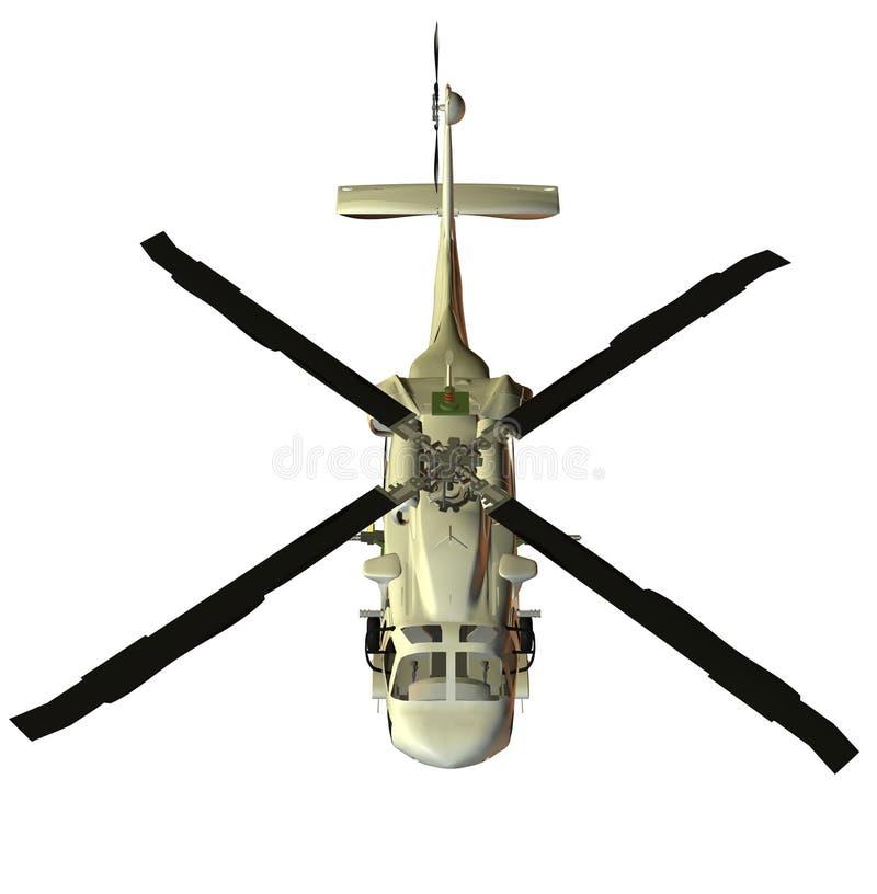Hubschrauber lizenzfreie abbildung