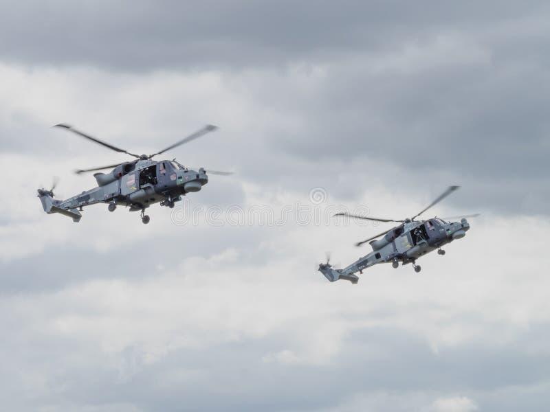 Hubschrauber des Luchs-M 8 stockfoto