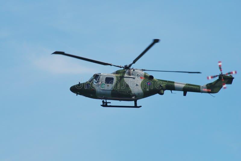 Hubschrauber des Westland Luchses AH.7 stockfotos