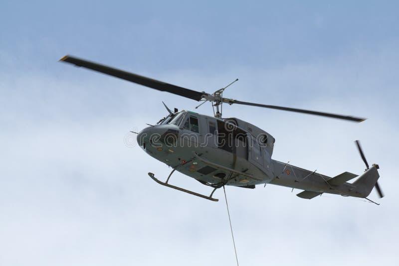 Hubschrauber-Evakuierung lizenzfreies stockbild