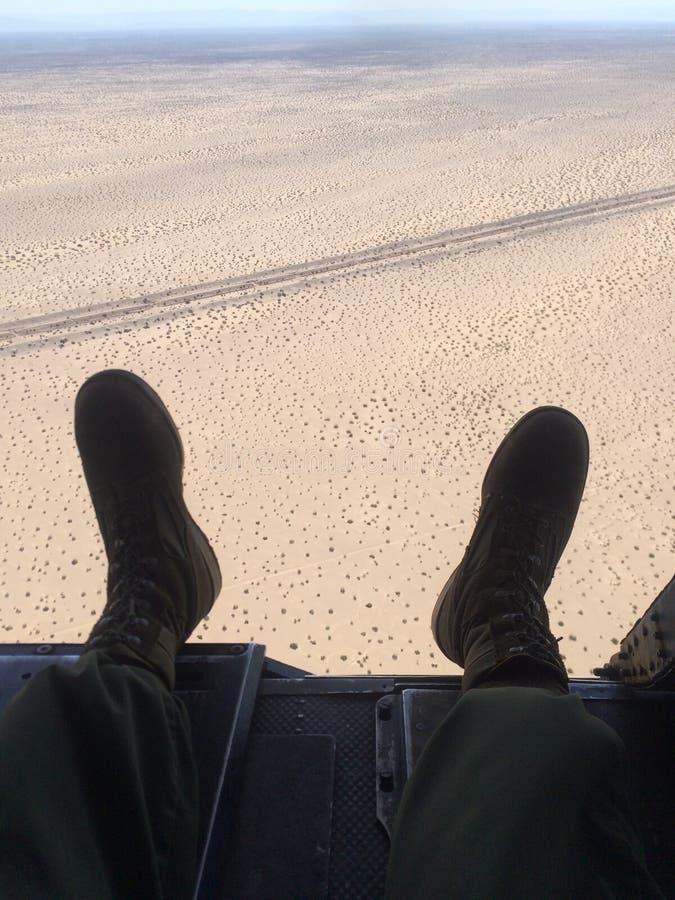 Hubschrauber-Fahrt lizenzfreies stockbild