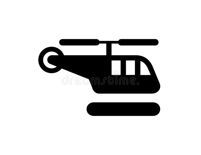 Hubschrauber-Landeplatz vektor abbildung