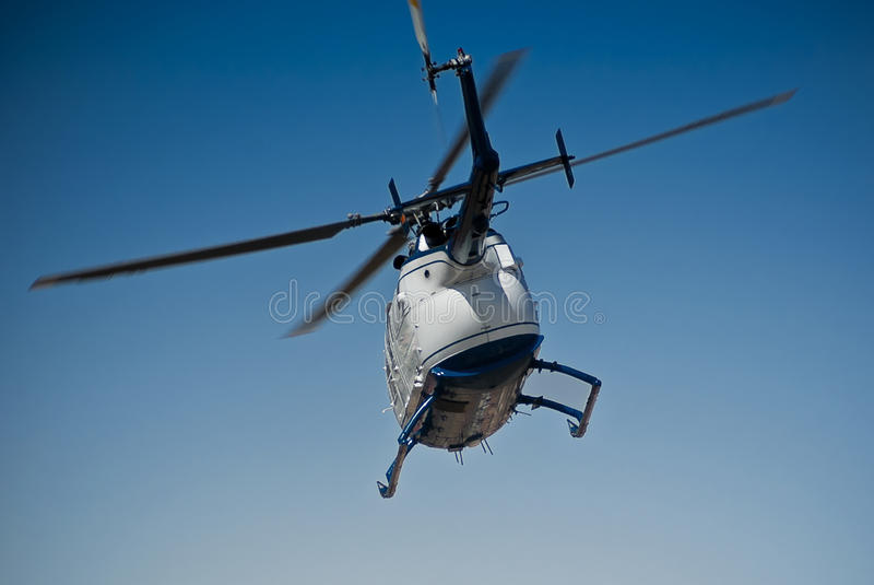Hubschrauber - MBB BO-105CBS-4 lizenzfreie stockfotos