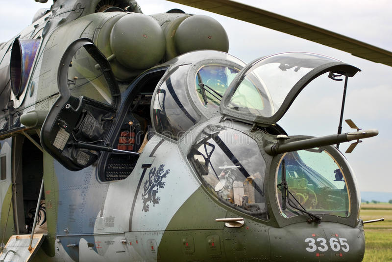 Hubschrauberangriff vektor abbildung