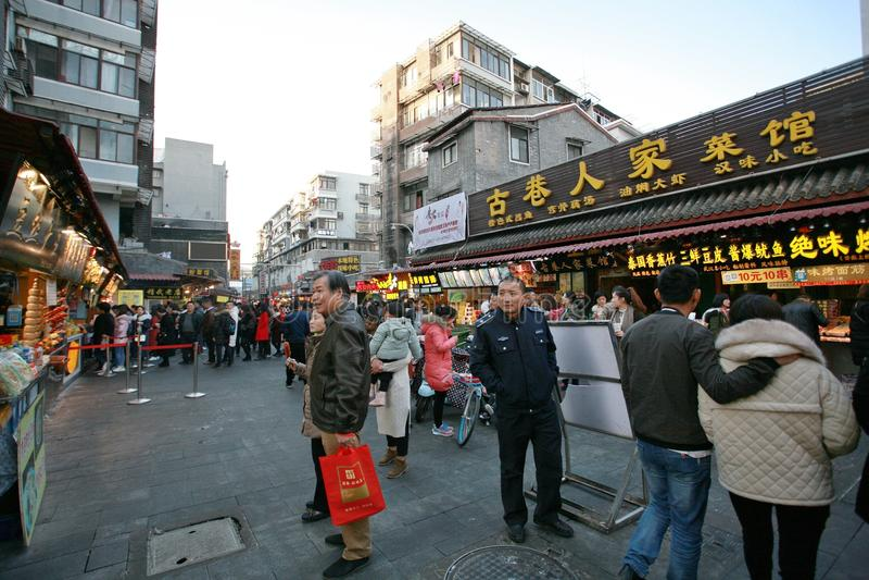 Hubuxiang, Wuhan στοκ φωτογραφία με δικαίωμα ελεύθερης χρήσης