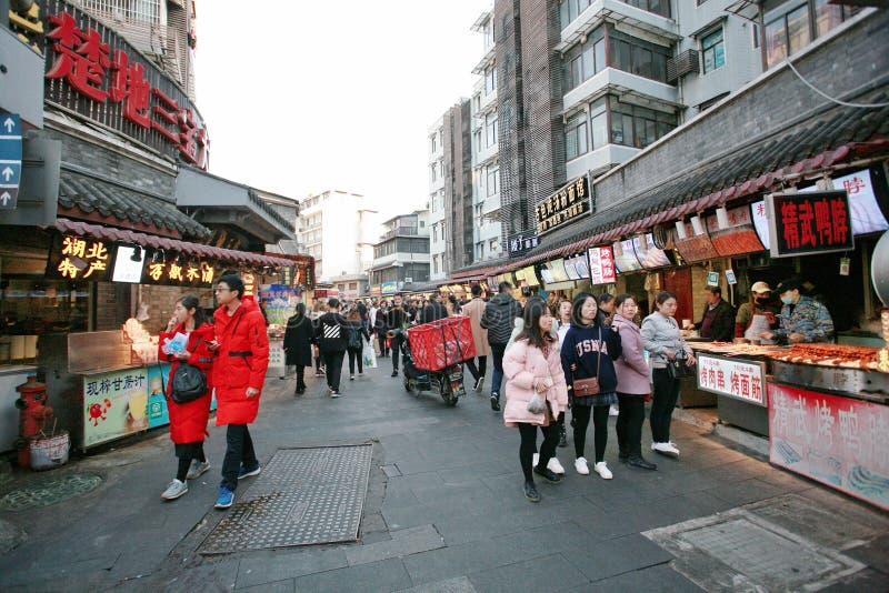 Hubuxiang, Wuhan στοκ εικόνα