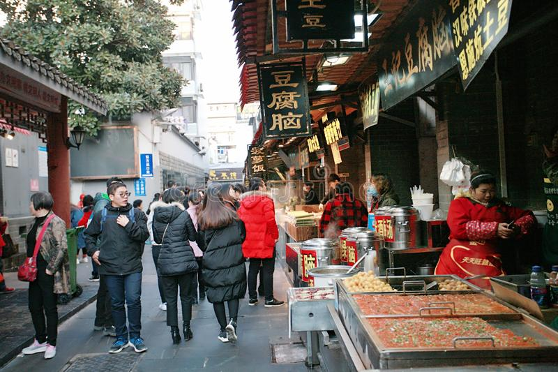 Hubuxiang, Wuhan στοκ φωτογραφίες με δικαίωμα ελεύθερης χρήσης