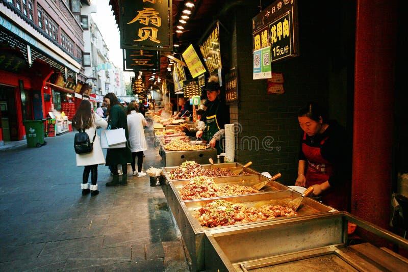 Hubuxiang, Wuhan στοκ εικόνα με δικαίωμα ελεύθερης χρήσης