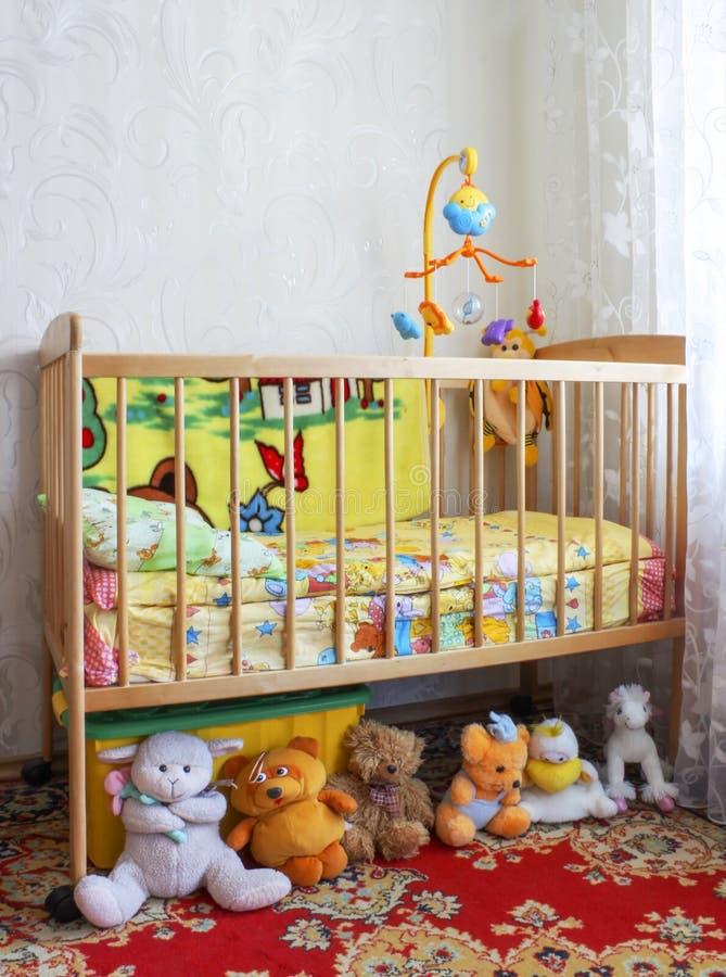 Huche de bébé photo libre de droits