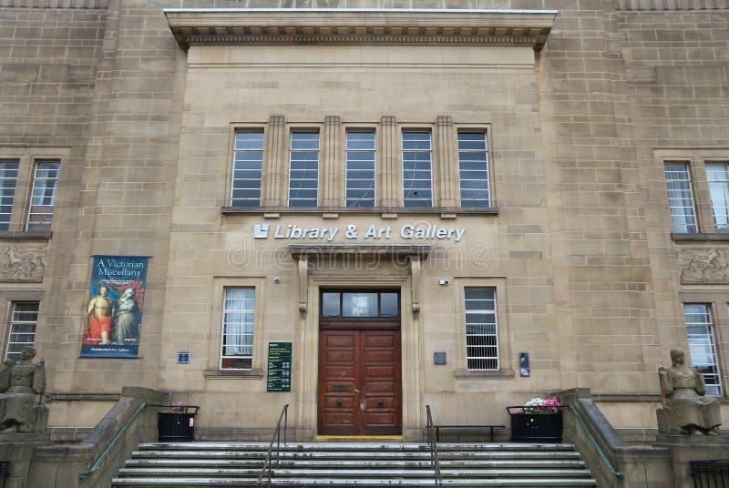 Huddersfield Art Gallery fotografia de stock