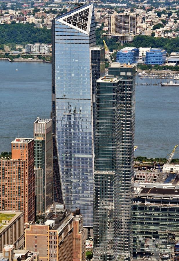 Hudson jardów rozwój w Manhattan obraz royalty free