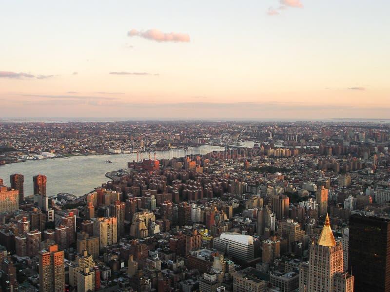 Hudson River arkivbild