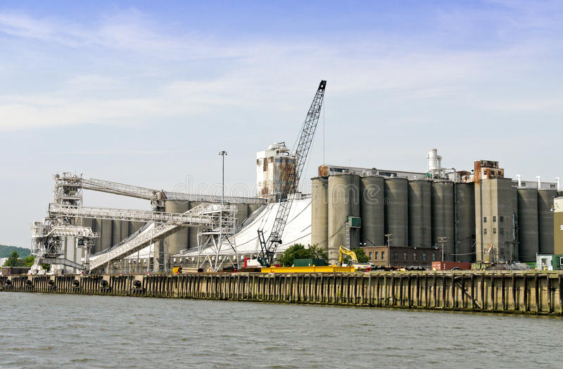 Download Hudson River Industries stock photo. Image of port, pollution - 12400292