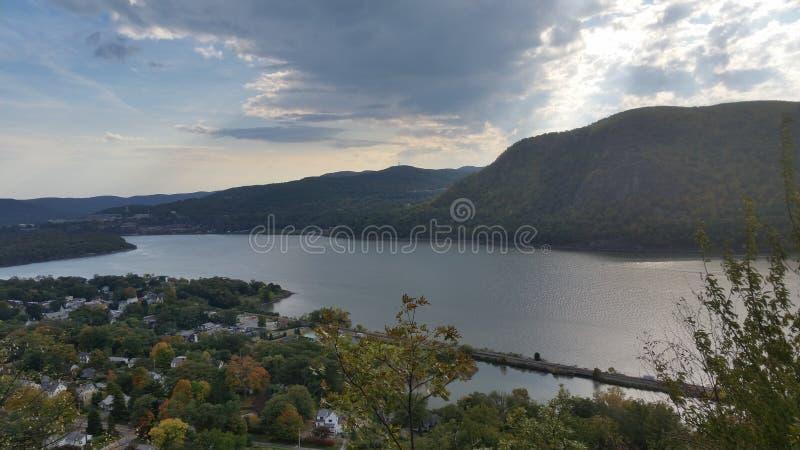 Hudson River Valley lizenzfreie stockbilder
