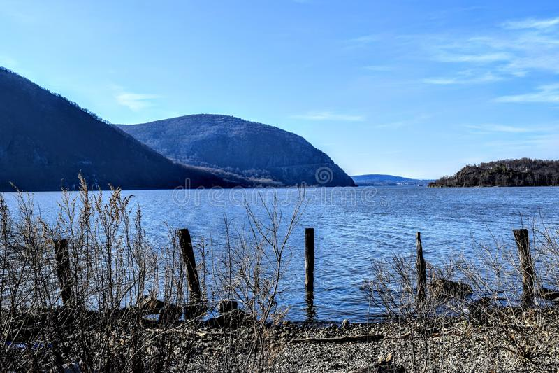 Hudson River royalty free stock image