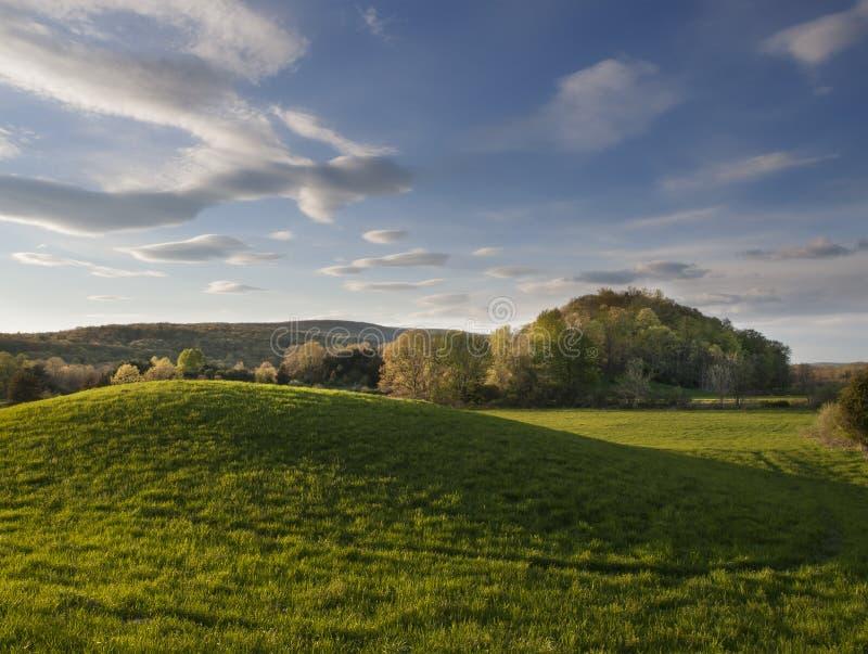 Hudson Valley Springtime Landscape fotografia stock libera da diritti