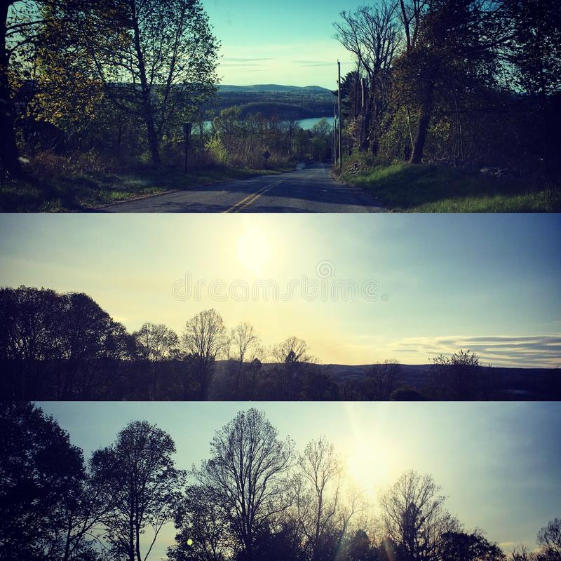 Hudson valley View royalty free stock photos
