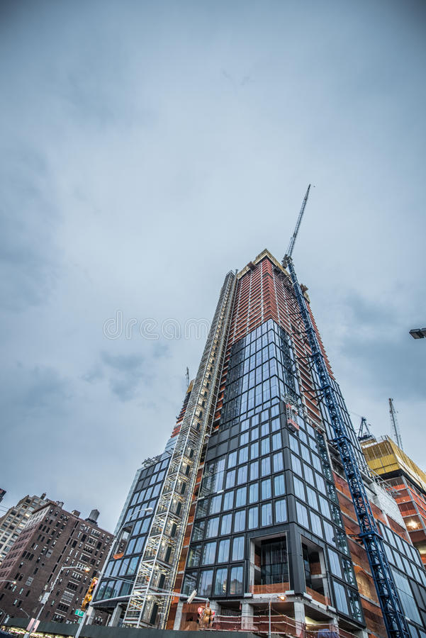 Hudson Yards Construction. Hudson Yards is a large-scale redevelopment program that is planned, funded and constructed under a set of agreements among the City stock images