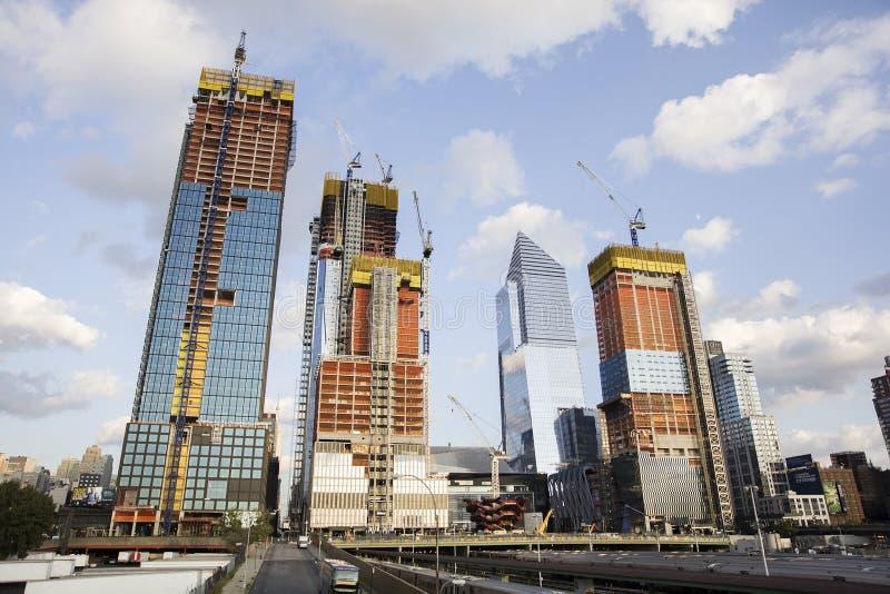 30 Hudson Yards dans Chelsea occidentale, New York City photographie stock libre de droits