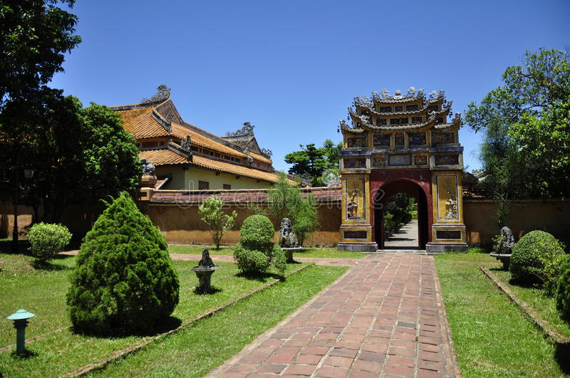 Download Hue Architecture stock image. Image of emperor, palace - 16084829