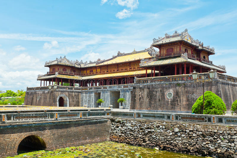 Hue Citadel stock image