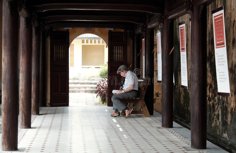 Hue Citadel, herança da cultura, Dai Noi, Vietnam, ngo segunda-feira fotos de stock