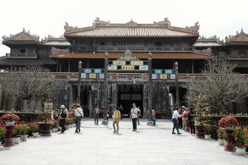 Hue Citadel, herança da cultura, Dai Noi, Vietnam, ngo segunda-feira imagens de stock royalty free