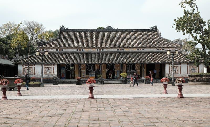 Hue Citadel, herança da cultura, Dai Noi, Vietnam, ngo segunda-feira fotos de stock royalty free
