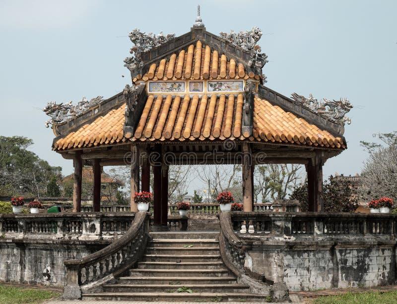 Hue Citadel, herança da cultura, Dai Noi, Vietnam, ngo segunda-feira fotografia de stock royalty free