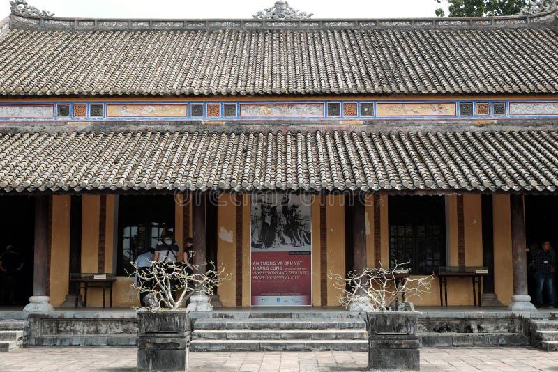 Hue Citadel, herança da cultura, Dai Noi, Vietnam, ngo segunda-feira fotografia de stock