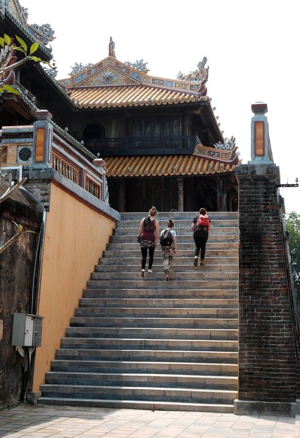 Hue Citadel, herança da cultura, Dai Noi, Vietnam, ngo segunda-feira imagem de stock royalty free