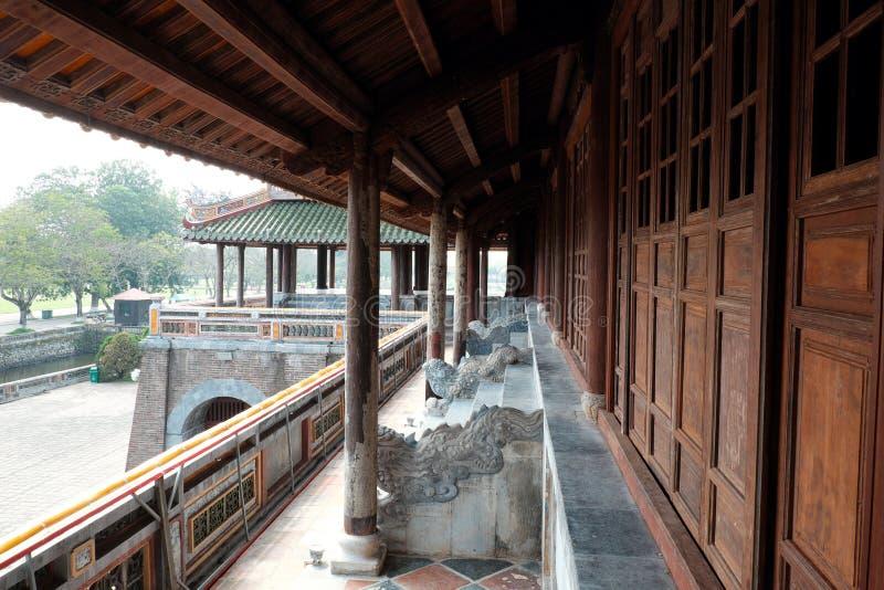 Hue Citadel, herança da cultura, Dai Noi, Vietnam, ngo segunda-feira foto de stock
